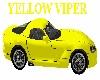 Viper Yellow Sports Car