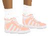 Peach Tennis Shoe