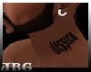 !Jessica! neck tattoo