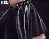ʞ- Zodiac Leather Skirt