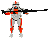 Clone trooper NCP Orange