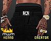 Jeans + belt ( MCM ) .
