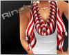 [FG]Candycane scarf&shir