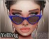 [Y] Emma blue sunglass