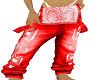 pants red moh