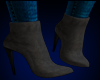 Eve Suede Boots GRAY