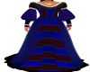 Blue Mairi Long Dress