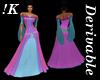 !K! Delure Medieval Gown