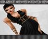 Cc - Black Grecian Gown