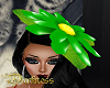 Daisy Hat Green