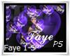 P5* Faye Hearts
