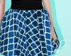 Sk8tr Skirt - Blue