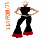 PF Black w/Red outfit