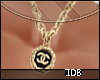 Chanel Vintage Gold/blk