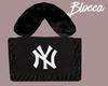NY Fur Bag Blk. B