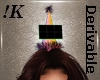 !K!Party Hat Middle -S