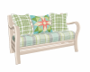 Summer Plaid Sofa