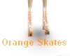ORANGE SWIRL SKATES male