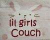 Lil Girls Couch