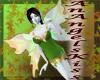 Green garden fairy