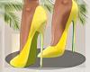 -Mm- Slay Yellow Heels