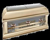 Casket White & Gold