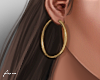 f. small gold hoops