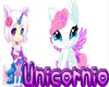 3*D UNICORNIO KAWAII
