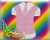 Stem pink vest/tie