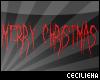 MerryChristmas ~ Sticker