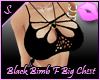 S. Black Bimbo flo top