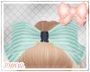 + kids stripe jean bow