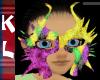 sparkle mardi gras mask