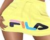 FILA Yellow Skirt LARGE