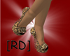 [RD]Leopard Open Toe M