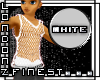 [LF] White String Vest