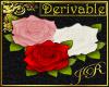 *JR 3D Rose Poster Sign
