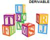(S) Block Letter Toys