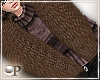 Fancy Brown Fur Scarf