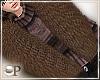 Fancy Brown Fur Scarf