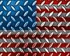 USA Flag diamond plate