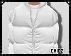 Cz!! White Bubble Coat