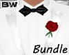 White Dinner Tux Suit BD