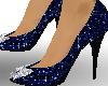 *T* Midnight blue heels