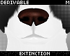 #jackal head nose