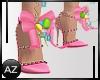 *az*easter bunny shoes