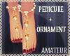 Sparkle Feet Ornaments