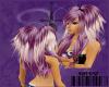 {D}purple pigtails
