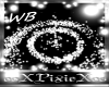 White particle blast