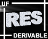 UF Derivable Res Seat
